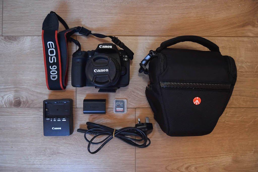 Canon 90D Travel Photography Gear