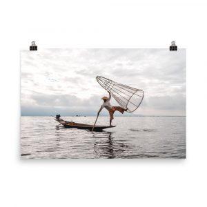 Burmese Fisherman print Burmese Fisherman photography Burmese Fisherman photo Burmese Fisherman picture