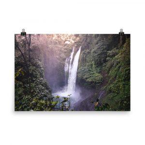 waterfall print waterfall photography waterfall photo waterfall picture