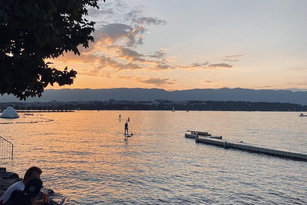 Paddleboarding Geneva Lake Geneva Paddleboarding Tropical Corner Geneva