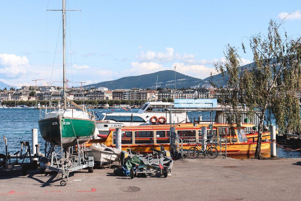 Mouettes Yellow Shuttle Boats Geneva 3 Days In Geneva 3 Day Geneva Itinerary
