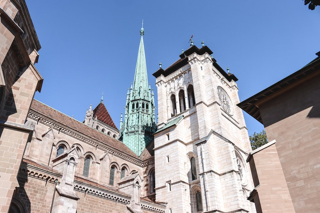 St. Peter's Cathedral Cathedral Old Town Geneva 3 Days In Geneva 3 Day Geneva Itinerary